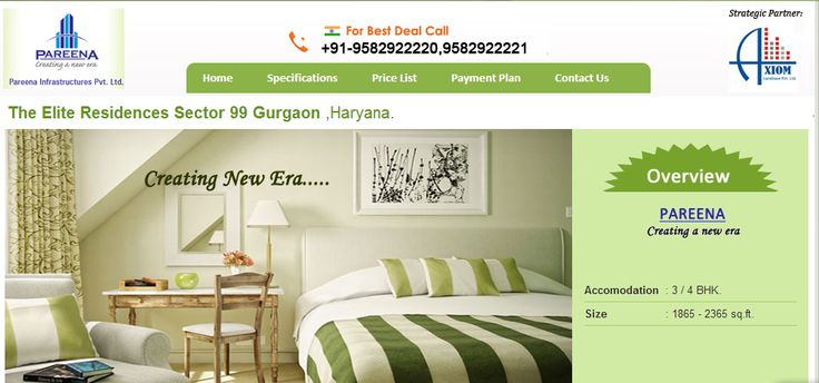 Pareena Elite Residences, Pre Launch Residental Project, flats, Luxury apartments in Dwarka Expressway sec 99 Gurgaon available in 3bhk,  4bhk luxury apartments in gurgaon.