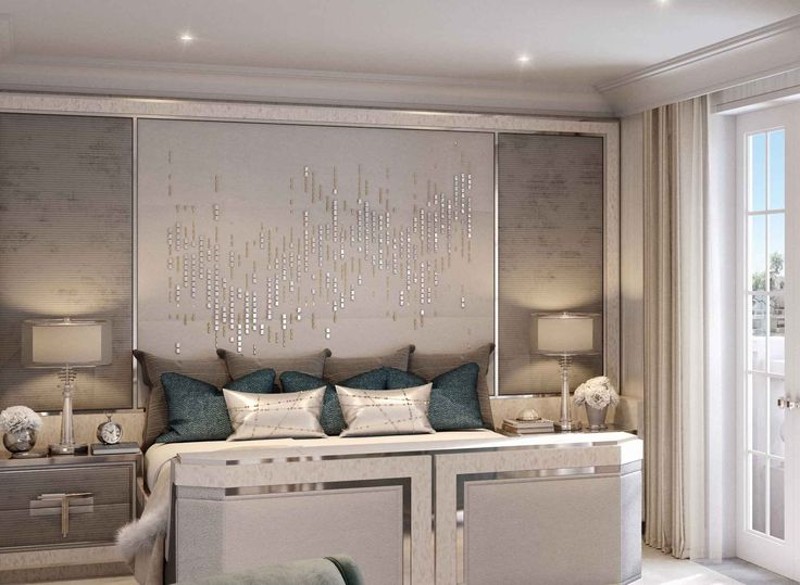 Master Bedroom Detail, Villa la Vague - Morpheus London