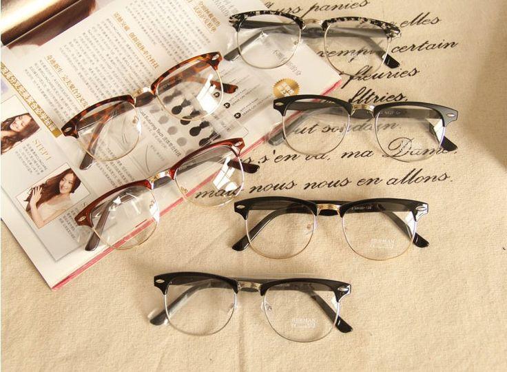 Купить товарНовое в 2016 дизайнер мужчины ретро круглые очки прозрачные линзы мужской классический простые оптические очки в категории Солнцезащитные очкина AliExpress.        Новый 2016 моды Ясно Объектив Gafas         Очки кадр оптический oculos