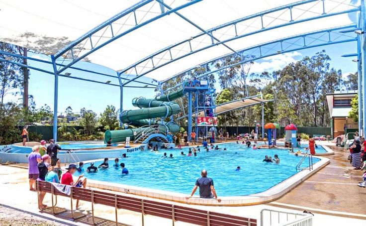 Need a place too cool off? Albany Creek has got you covered! The Albany Creek Aquatic Centre features an awesome leisure pool which includes both a slide and a whirling rapids. The pool is a great place to bring the whole family. #pool #aquaticcentre #visitmoretonbayregion #moretonbay #visitbrisbane #thisisqueensland