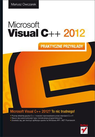 Microsoft Visual C   2012. Praktyczne przykłady - Mariusz Owczarek