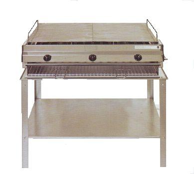 Mod. F3  Barbecue in acciaio inox douplex GA Srl