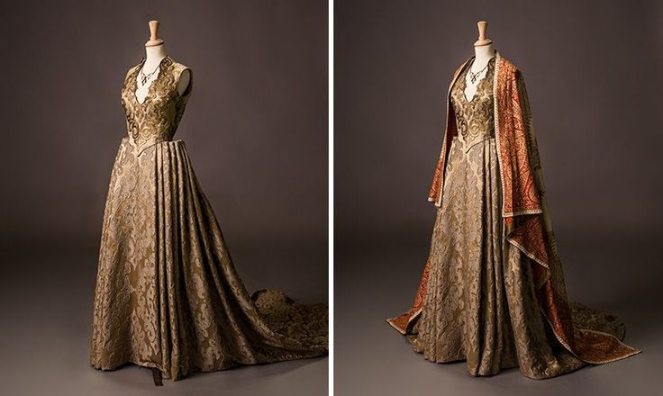 "From ""Game of Thrones"" worn by Natalie Dormer as Margaery Tyrell design by Michele Clapton"