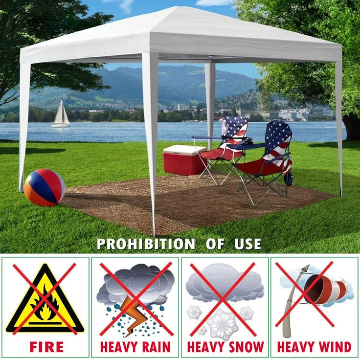 STRONG CAMEL Wedding Party White Tent 10'x10' Outdoor Gazebo Pavilion Canopy BBQ With 4pcs Side Walls *** Insider's special review you can't miss. Read more  : Hiking tents