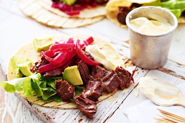 Mexican beef-cheek tortillas main image