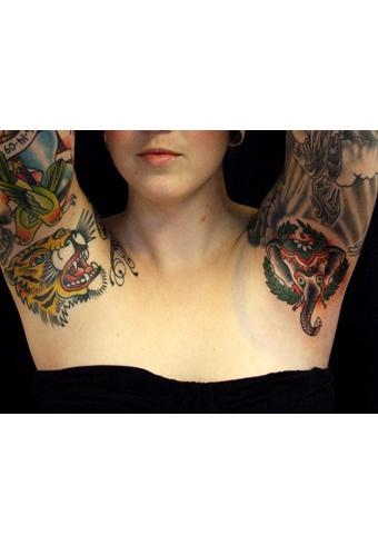 Best 25 armpit tattoo ideas on pinterest for Hard ink tattoo