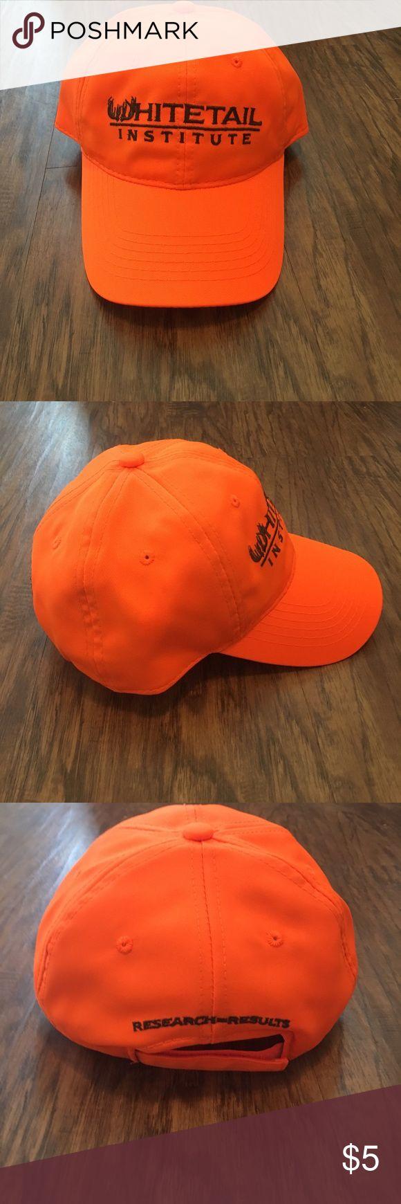 WHITETAIL INSTITUTE ORANGE HAT Brand new perfect whitetail institute Accessories Hats