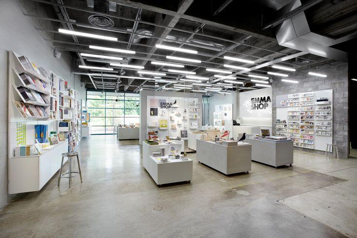 EMMA Museum Shop at WeeGee Exhibition Center. Design by Aivan. Photo Iiro Muttilainen.