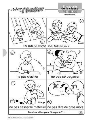 Imagerie: les règles de vie