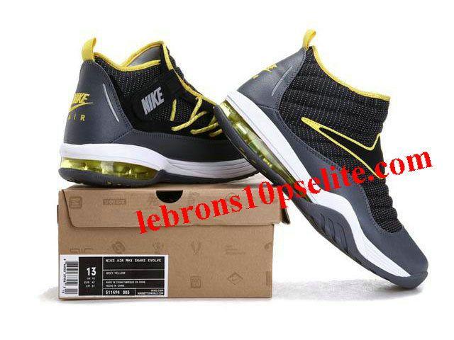 differently b5e07 64254 ... Nike Air Max Shake Evolve Rodmans Reborn GrayBlackYellow, cheap Dennis  Rodman Shoes, ...