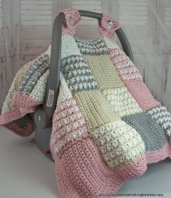Crochet Pattern Baby Car Seat Cover, Crochet Infant Car Seat Cover Pattern Free