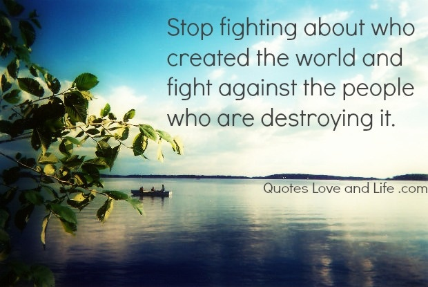 Quotes About Fighting The Good Fight: Stop Fighting Quotes. QuotesGram