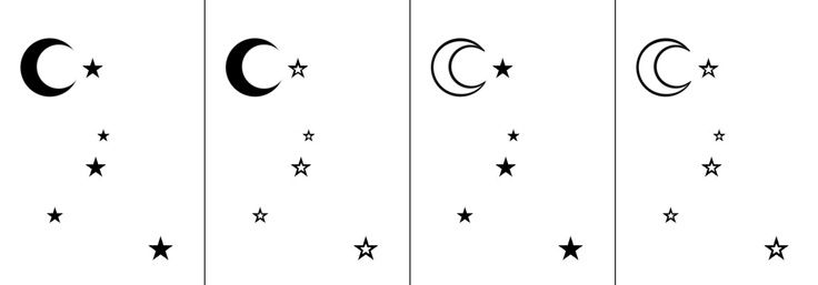 This would be a cute yet simple tattoo. Cancer constellation