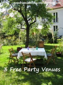 3 Free Party Venues #birthdays #parenting