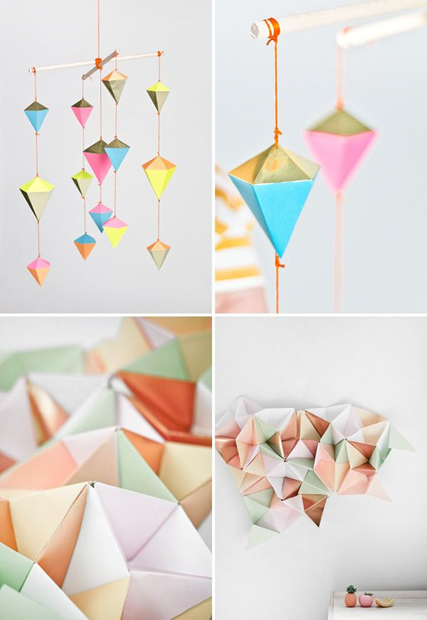 pretty paper shapes from Marsha Golemac