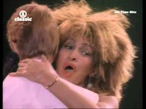 Tina Turner & David Bowie - Let's Dance [Official Music Video] - YouTube
