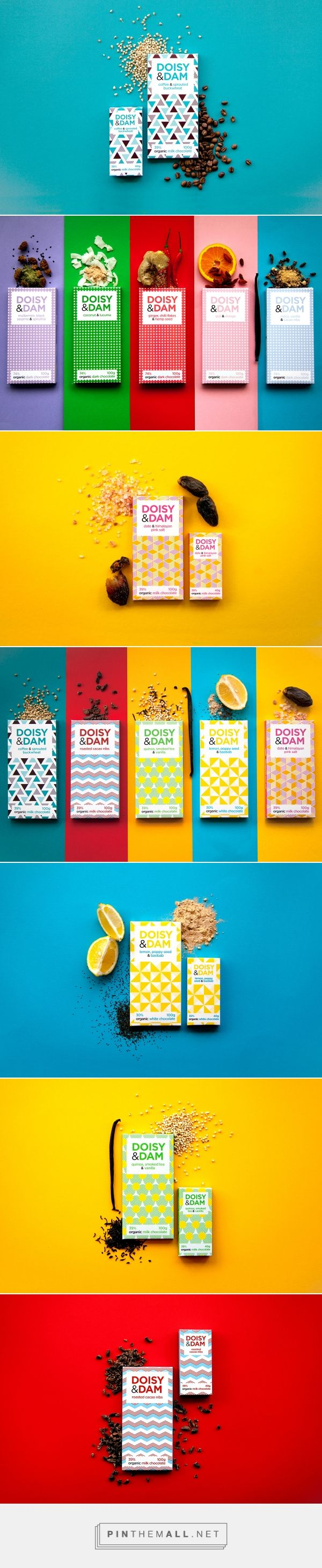 Doisy & Dam Packaging (new range & development) on Behance by Beth Salter curated by Packaging Diva PD. More chocolate packaging inspiration for the team : )
