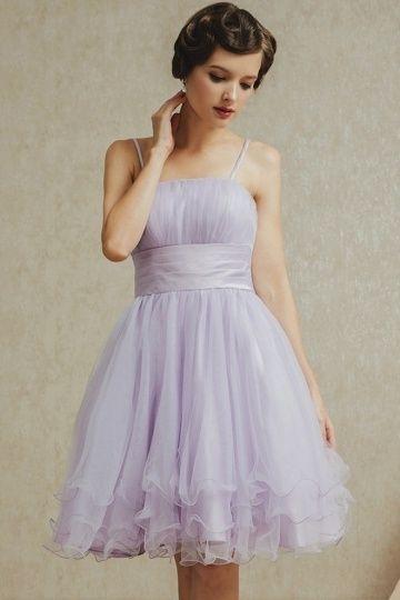 Petite robe en tulle à l'esprit fraîche pour bal des finissants