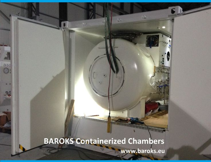 High quality - special design hyperbaric / diving containerized chambers