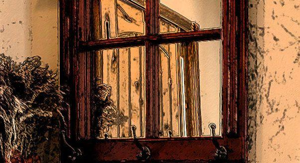 Интерьер комнаты. Интерьер маленькой комнаты 12 кв м.Вариант 1. Зеркальное фальш-окно. Не обязательно вешать на стену настоящую оконную раму - достаточно приобрести зеркала с перемычками, как в нашей подборке.