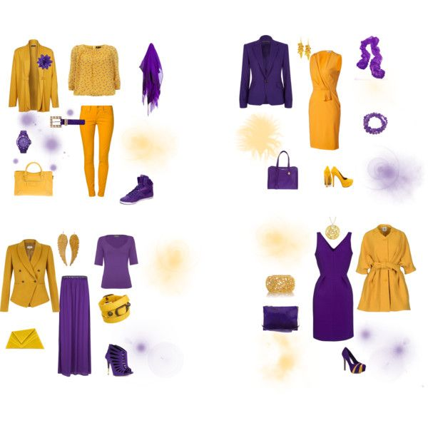 harmonie complementaire jaune violet by adeylebar on polyvore pinterest polyvore. Black Bedroom Furniture Sets. Home Design Ideas