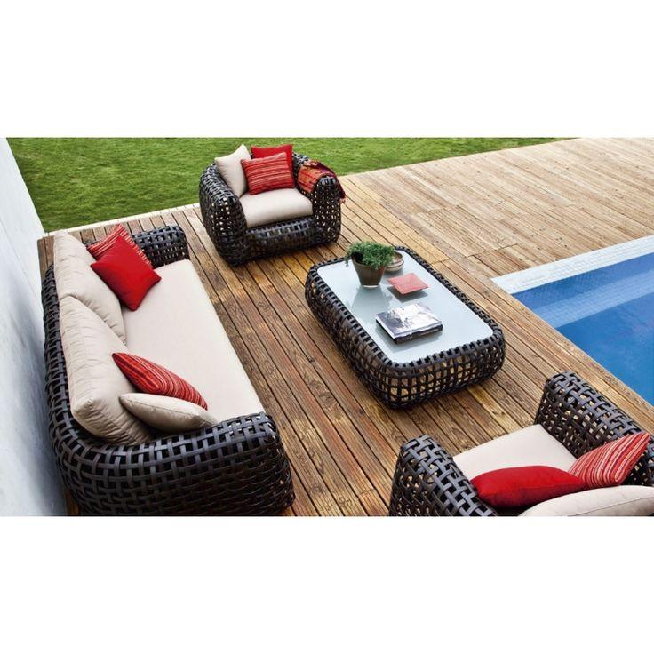 Die 25+ Besten Ideen Zu Loungemöbel Rattan Auf Pinterest | Lounge ... Gartenmobel Ideen Innen