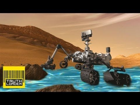 Curiosity rover: Mars 'is 2% water' -- Truthloader Investigates - YouTube