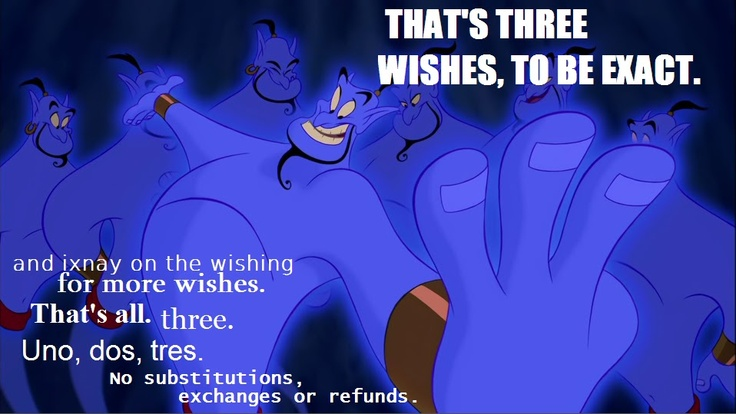 aladdin wishes rules