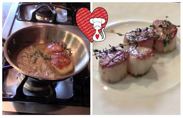 Ricette e Segreti in Cucina : Ricette San Valentino Capesante in padella