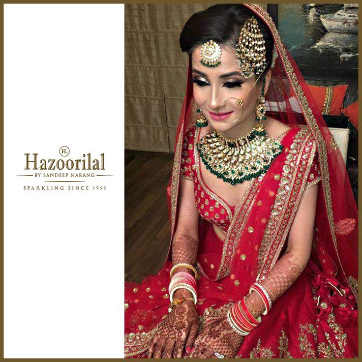 Savour your most memorable day with sparkling wedding jewellery from the House of #HazoorilalBySandeepNarang  #HazoorilalBrides #HazoorilalClientDiaries #HappyBrides #BridalJewellery #JewelleryTrendsetters #Since1952 #ItcMaurya #DlfEmporio #GK-1 #HazoorilalJewellers #Hazoorilal