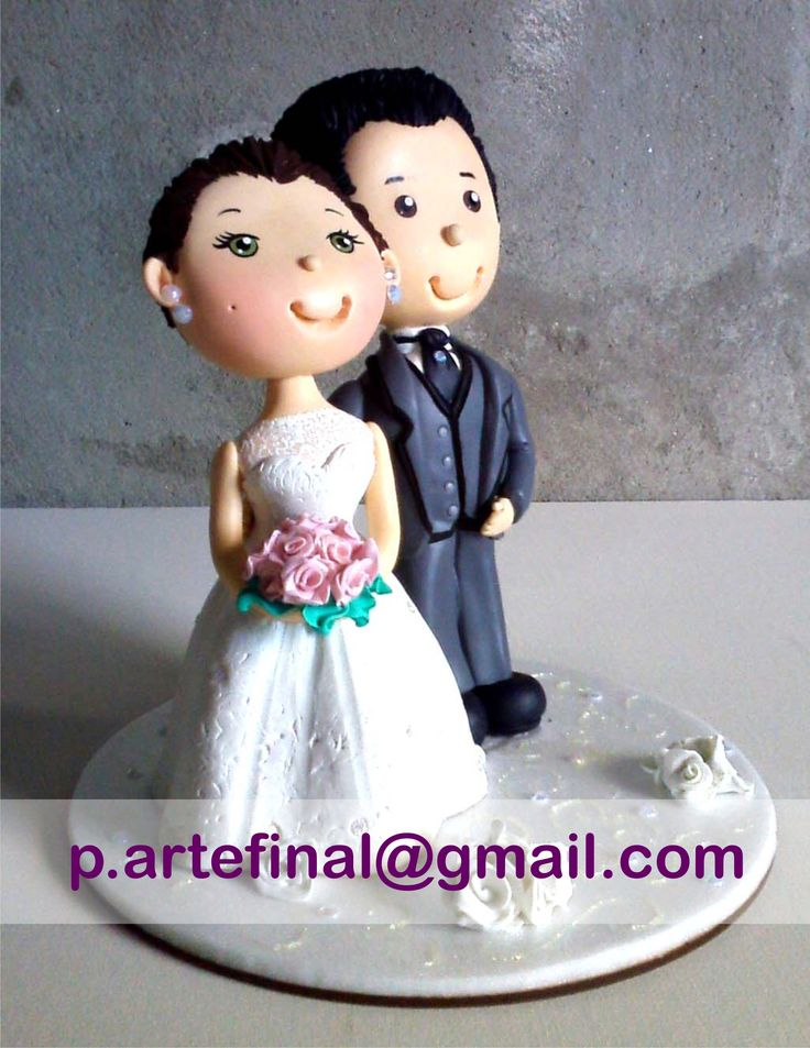 #grooms#married#topodebolo#biscuit#polymerclay