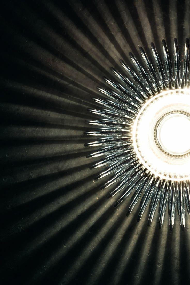 Spring PP wall lamp by Morosini, detail.