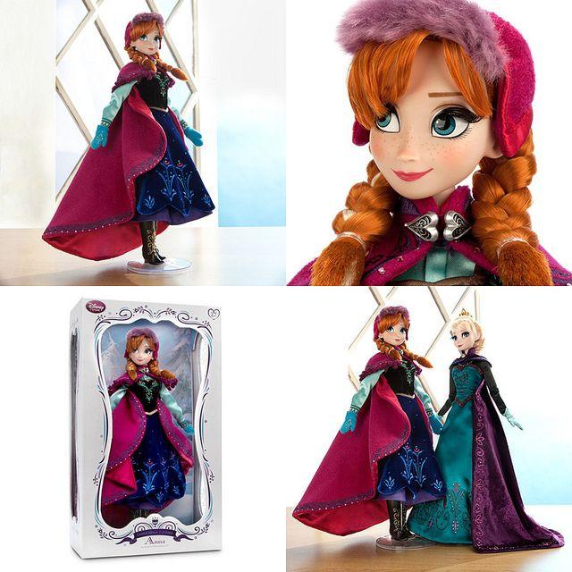 Limited Edition Disney Store Winter Adventure Anna Doll | Flickr - Photo Sharing!