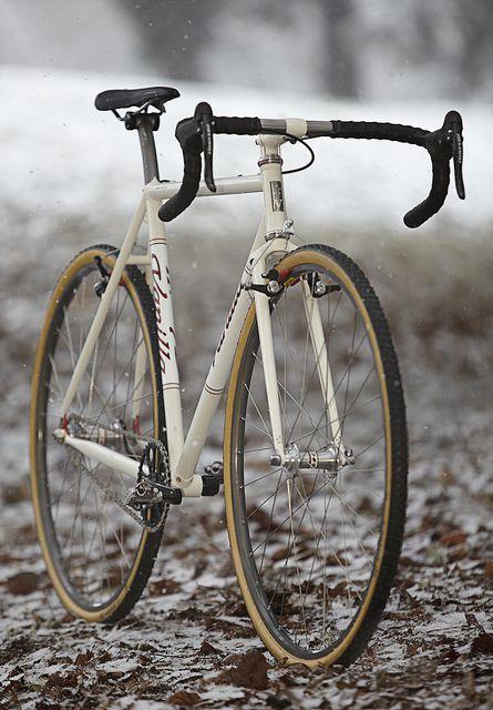 Vanilla Cream (Single Speed) Cross Bike by Vanilla Workshop, via Flickr