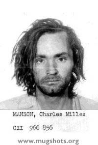 Serial murderer and cult figure Charles Manson.  Though, supposedly, HE never murdered, he was behind making others carry out his demonic plans.
