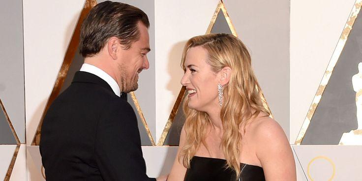 Kate Winslet's Face During Leonardo DiCaprio's Oscar Speech Is ~*All of Us*~  - Cosmopolitan.com