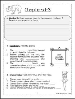 """FREE LANGUAGE ARTS LESSON - """"James and the Giant Peach Novel Study FREEBIE"""" - Go to The Best of Teacher Entrepreneurs for this and hundreds of free lessons. 3rd - 6th Grade #FreeLesson  #LanguageArts  http://www.thebestofteacherentrepreneurs.com/2015/11/free-language-arts-lesson-james-and.html"""