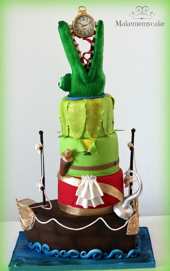peter pan world Cake: