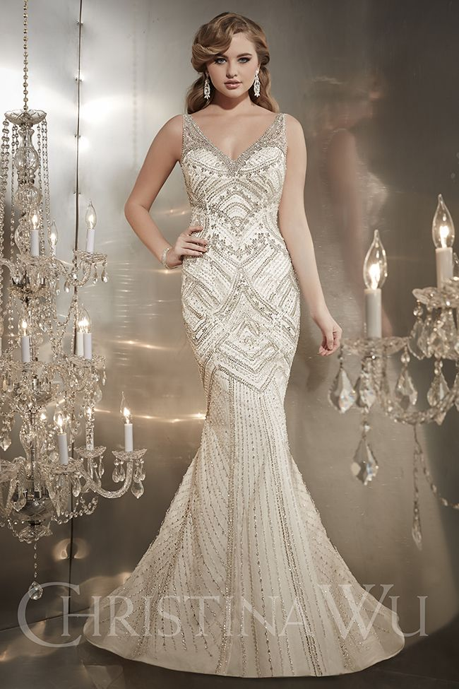 Cristina Wu Wedding Dress