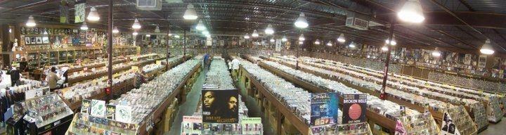 Forever Young Records in Grand Prairie, Texas I HAVE TO GO ITS BEEN DECIDED