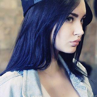 Peachy 1000 Ideas About Blue Hair On Pinterest Scene Hair Hair And Short Hairstyles Gunalazisus
