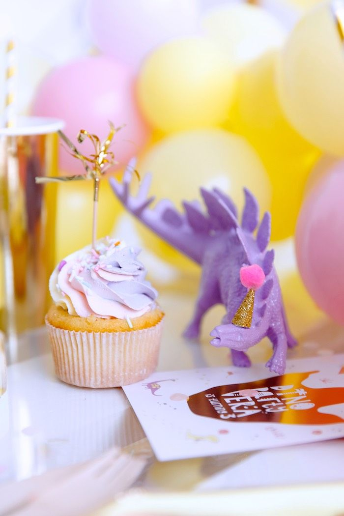 Chic Pastel Dino Birthday Party