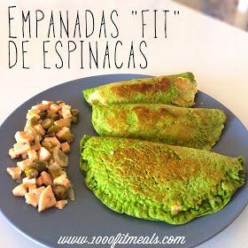 1000 Fit Meals: #45 Empanadas de espinacas (sin harina)