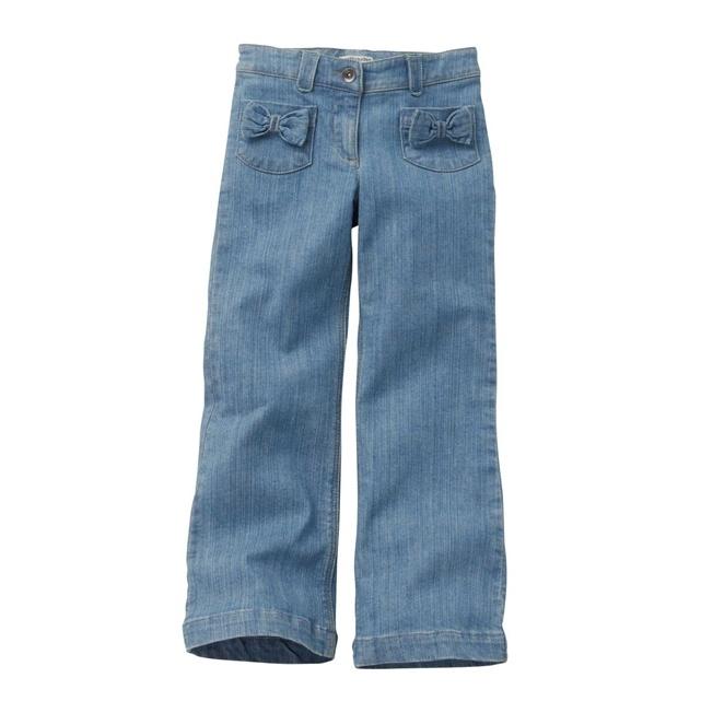 Jeans taglio a cono, bambina