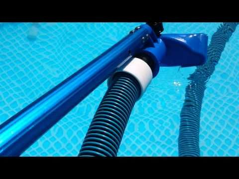 HOW TO VACUUM YOUR POOL, EASY, CHEAP AND EFFECTIVE - YouTube