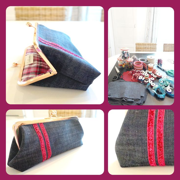 Awesomesauce handmade clutch!