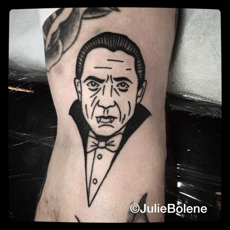 dracula tattoo by Julie Bolene