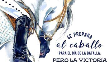 Se prepara al caballo para el día de la batalla... (Proverbios 21, 31)