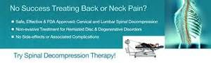 Spinal Decompression will help relive the pain in your back and without a painful surgery!