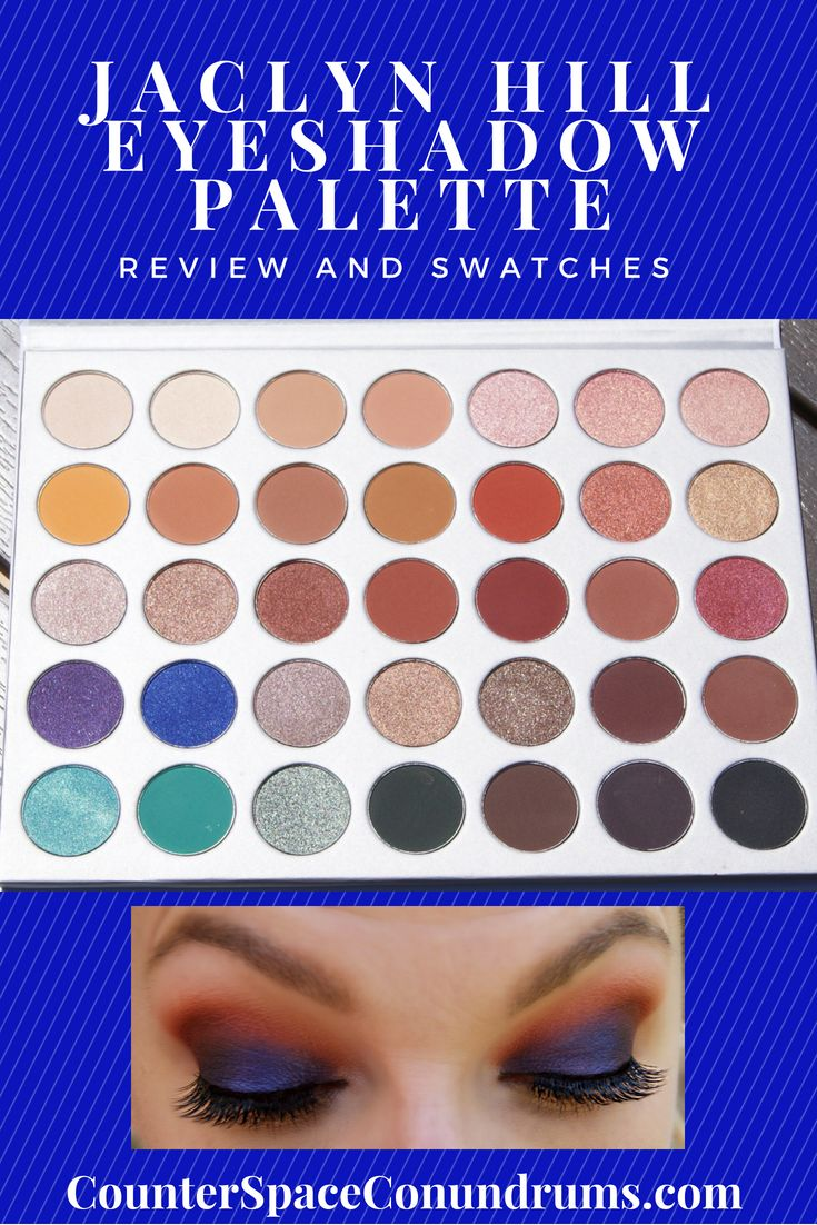 Jaclyn Hill Eyeshadow Palette Review and Swatches
